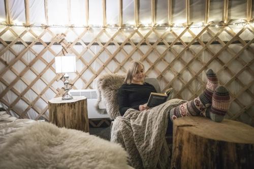 yurt feeling good